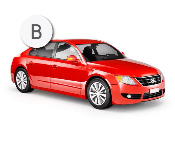 Con el permiso de conducir de la clase B se pueden conducir turismos, camiones y vehículos mixtos hasta 3.500 kg